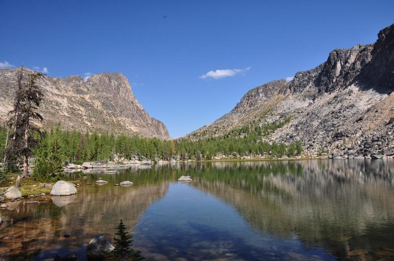Upper Cathedral Lake.