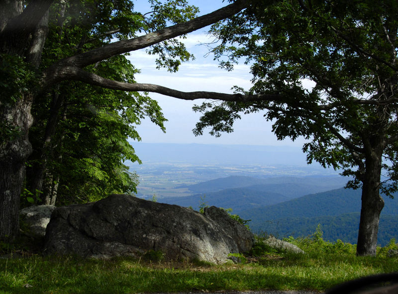 Fisher's Gap Overlook - Skyline Drive. with permission from Hank Waxman