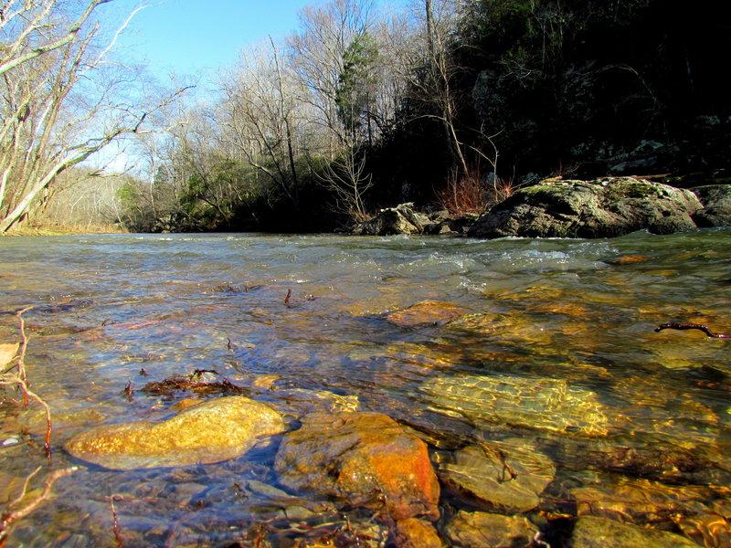 The Eno River.