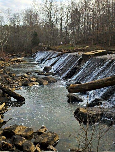 Dam along the Eagle Trail.