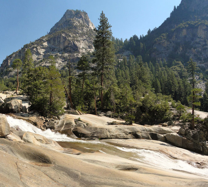Mist Falls in Kings Canyon National Park.
