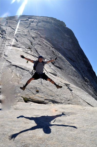 Flying Squirrel after conquering Half Dome!!!
