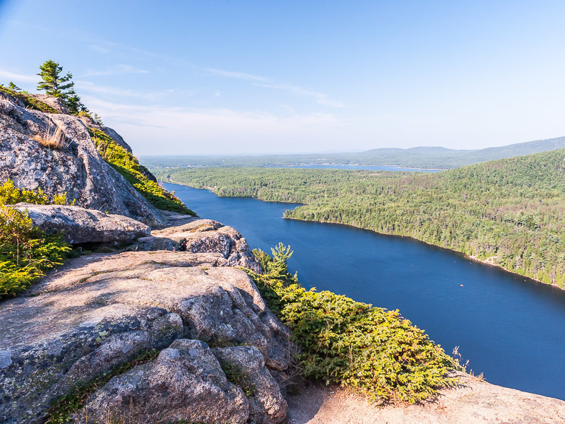 Views of Long Pond from Beech Mountain