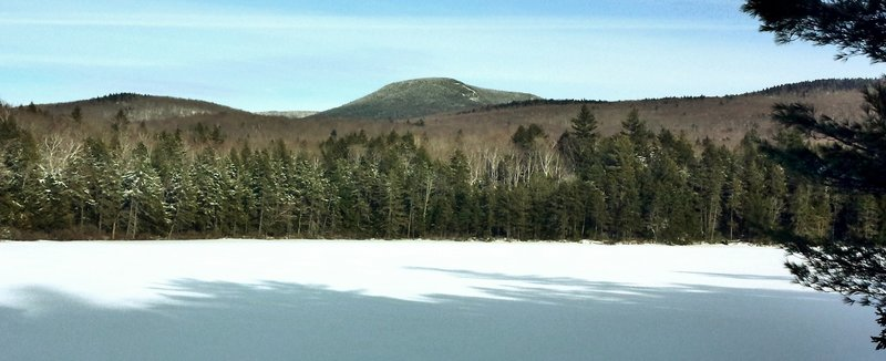 Smarts Mtn from Trout Pond 3/16/15