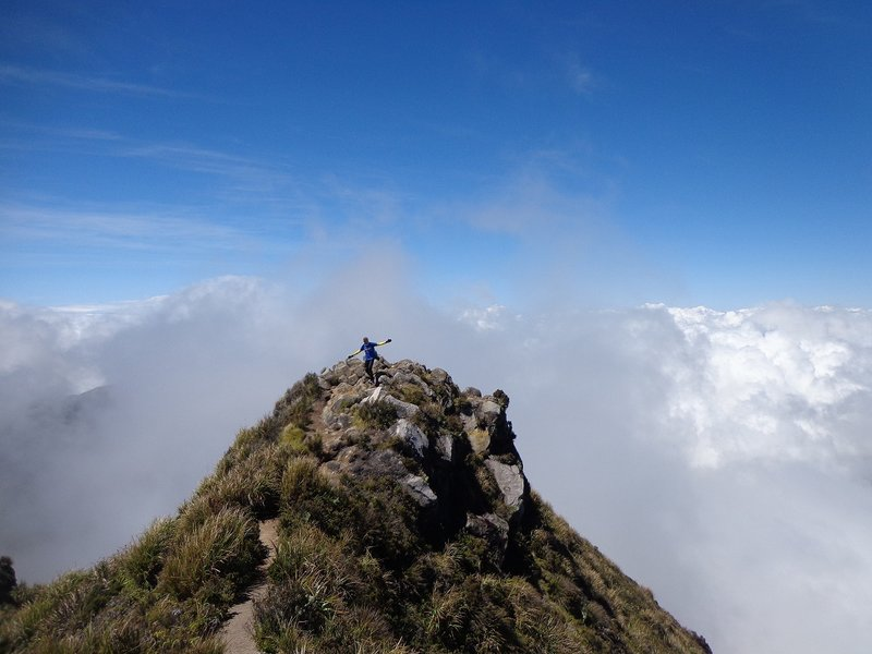 At the summit of Mt. APO!