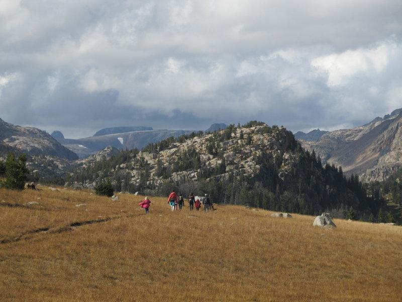 Beartooth Plateau...heading down into the canyon.