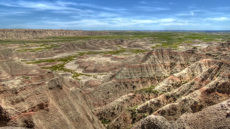 Badlands National Park. with permission from Juan234