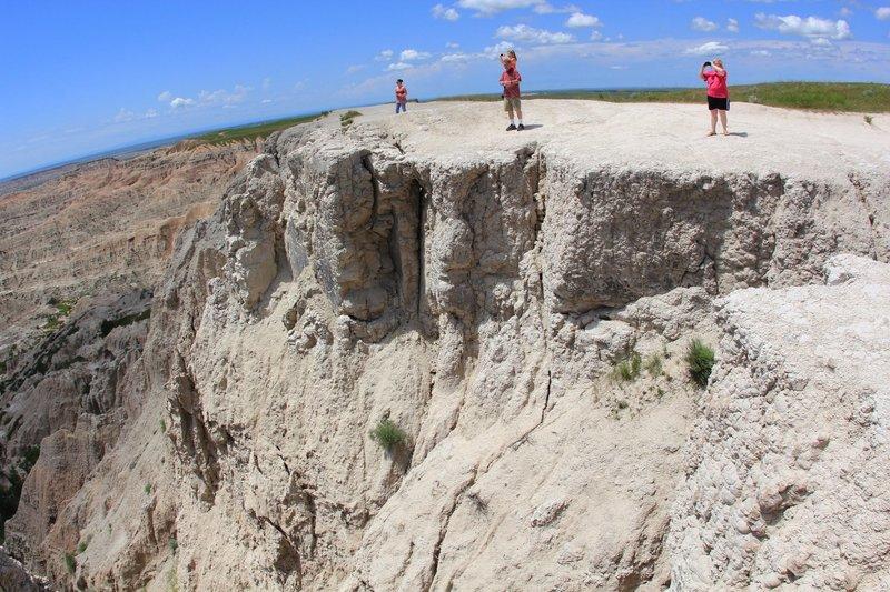 End of Pinnacles Overlook.