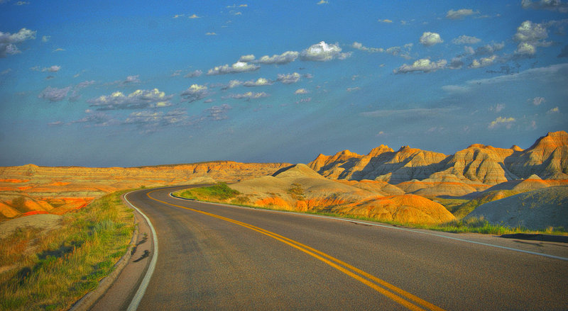Badlands (SD) Highway.