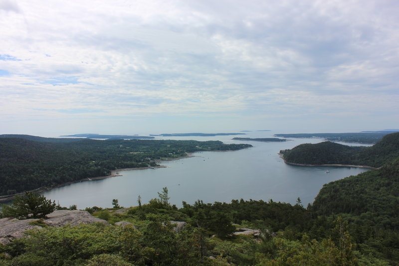 Somes Sound from Acadia Mountain.