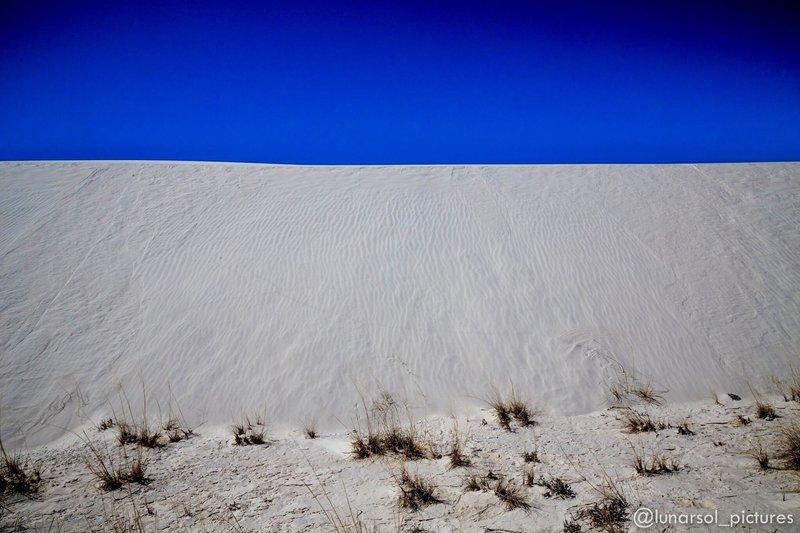 White Sands National Monument, NM.
