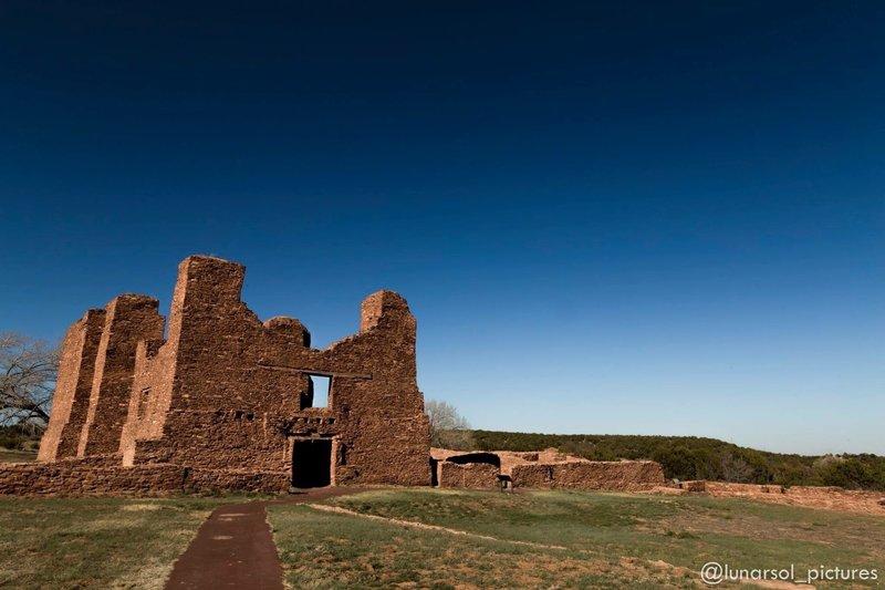 Quarai, Salinas Pueblo Missions National Monument, NM.
