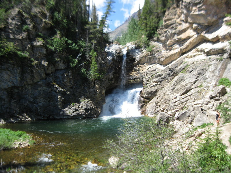 Running Eagle Falls (Trick Falls).