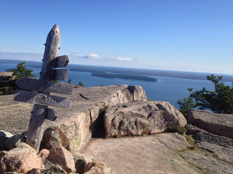 Mount Champlain Summit.