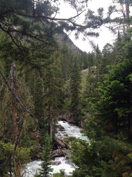 Moran Creek.