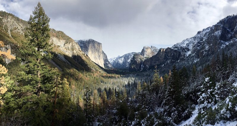 Yosemite winter - Oh the View!