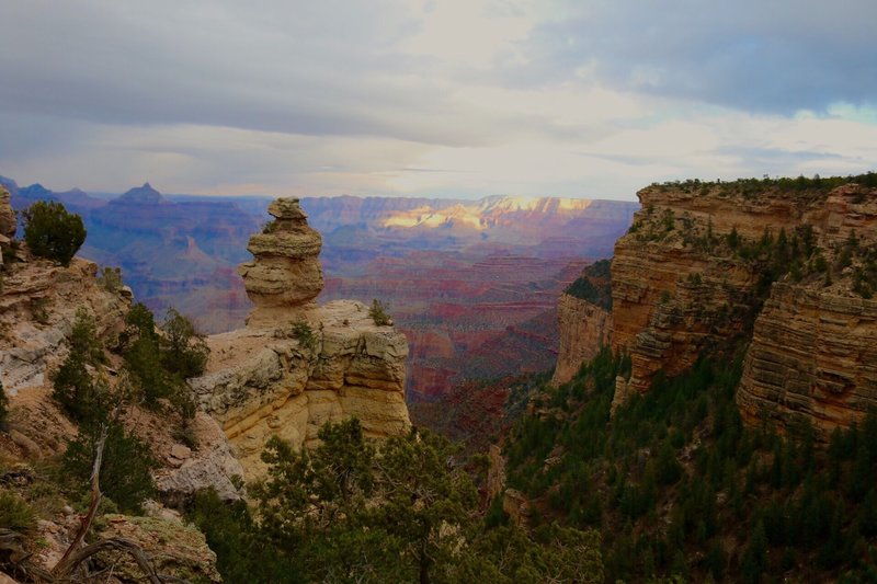 The wonders of the Grand Canyon.