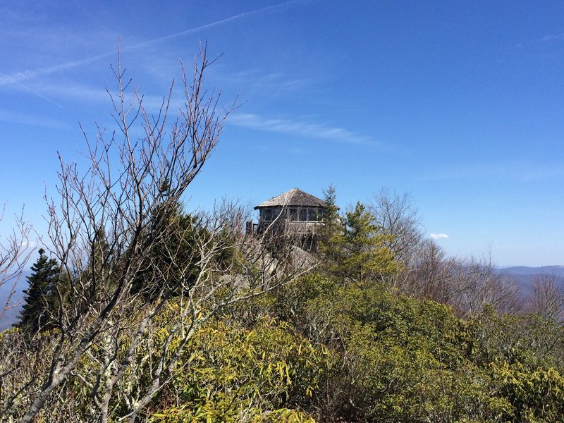 Mt. Cammerer Fire Tower - located in the Great Smoky Mountains National Park along the Appalachian Trail. For a day hike, start at Cosby Campground and take Lower Gap Trail ( about 11.1 miles r/t).