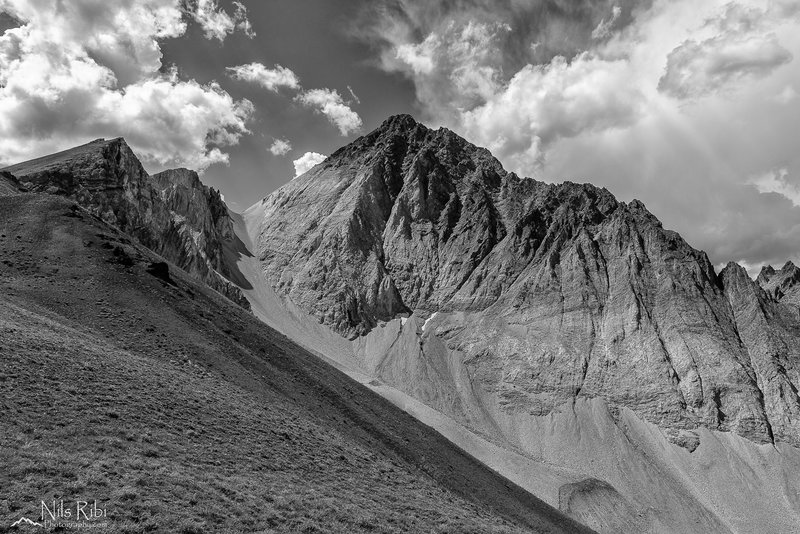 Castle Peak, White Clouds Wilderness