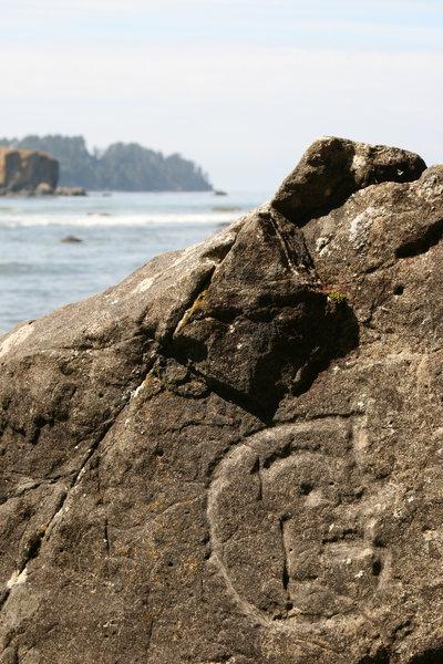 Petroglyphs at Wedding Rocks with permission from Nick Terrett