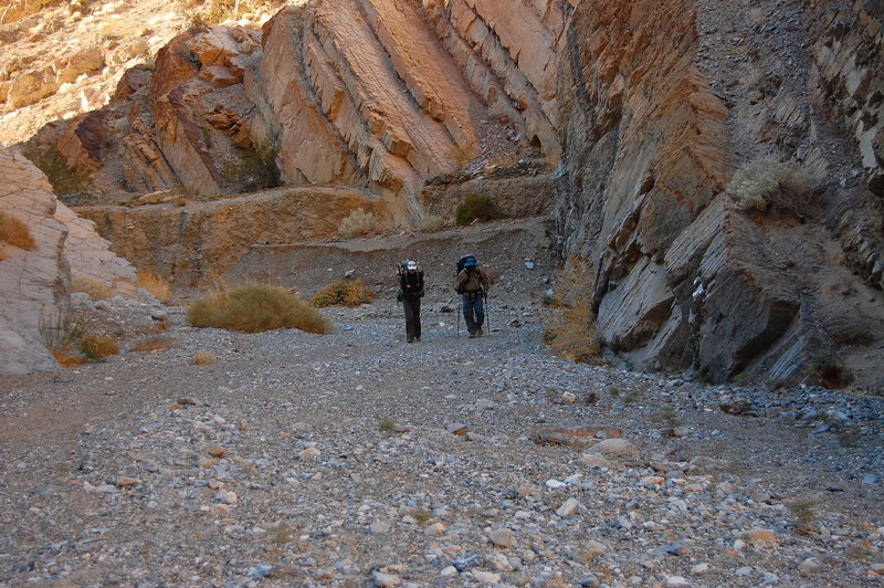 Finishing off a Cottonwood Canyon/Marble Canyon loop!