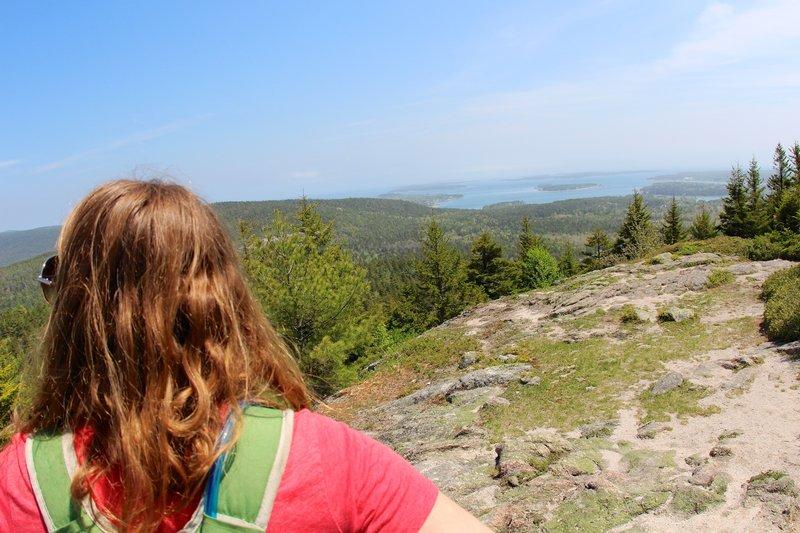 Sightseeing from Beech Mountain.