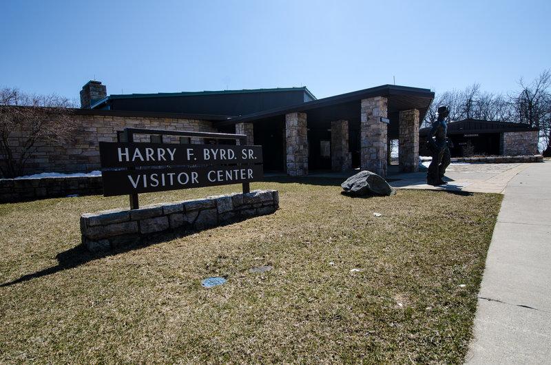 Harry F. Byrd Visitor Center.