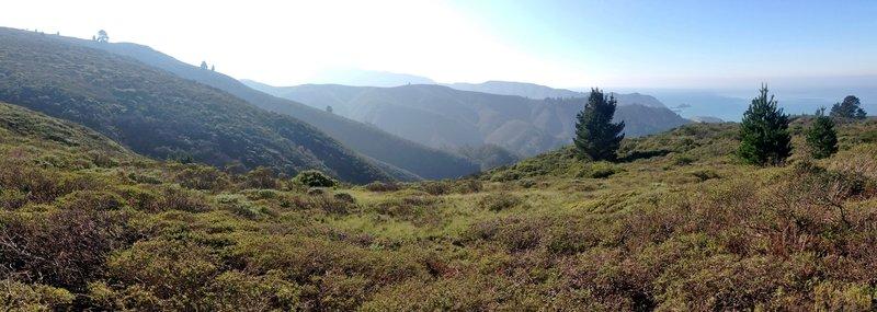 View from Sweeney Ridge.