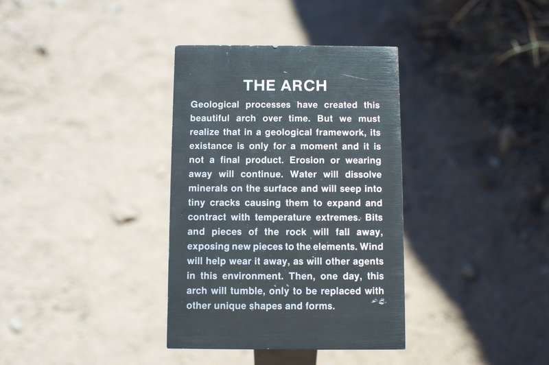 Explanation of the arch.