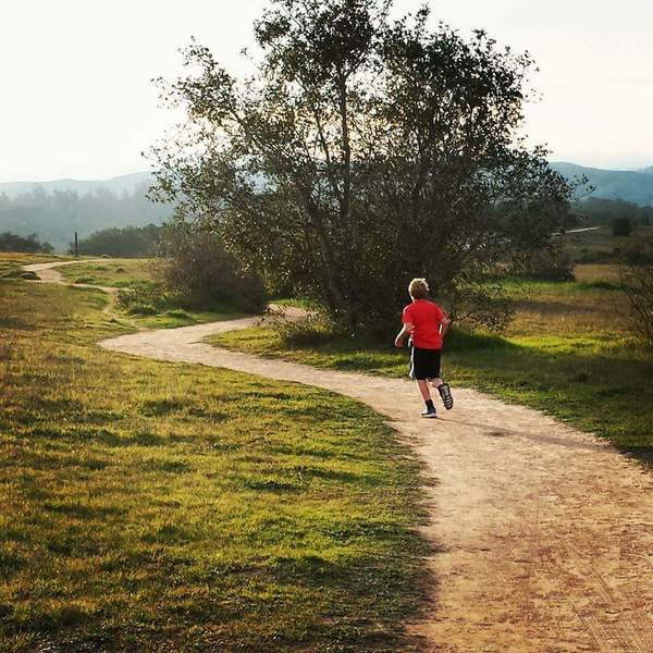 Heading back to Orcutt Community Park on the east side.