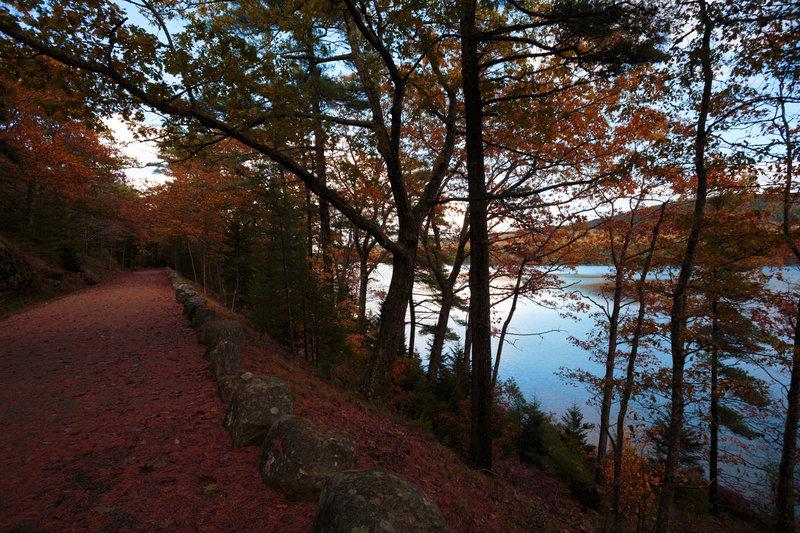 Eagle Lake fall color.