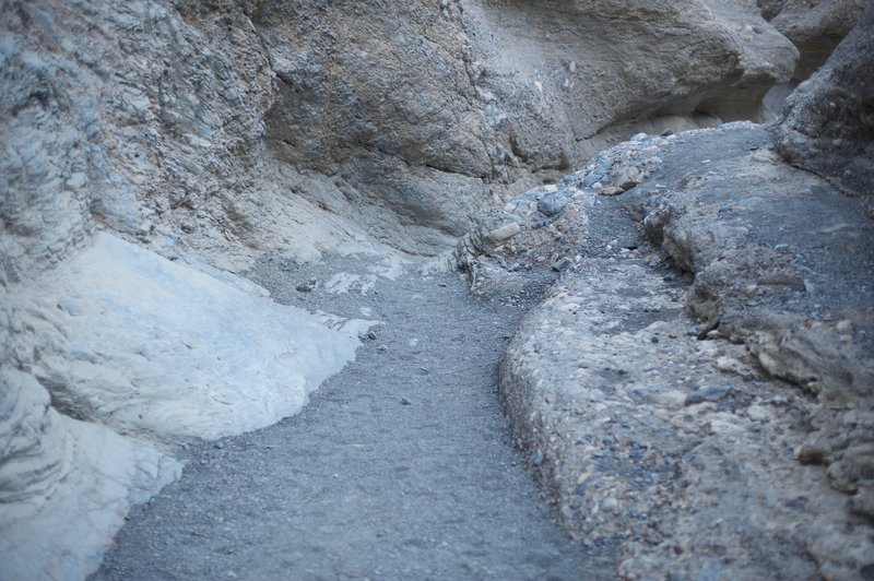 The trail is narrow throughout the canyon and requires some scrambling, especially in the upper ends of the canyon.