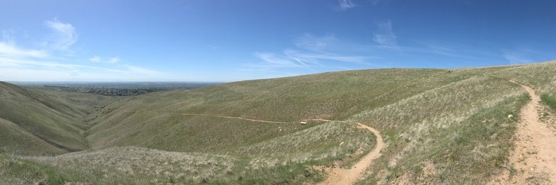 """Urban Connection provides a fantastic view of downtown Boise. It's especially """"breathtaking"""" if you climb this section from Bob's instead of taking the more gradual path up from Highlands."""