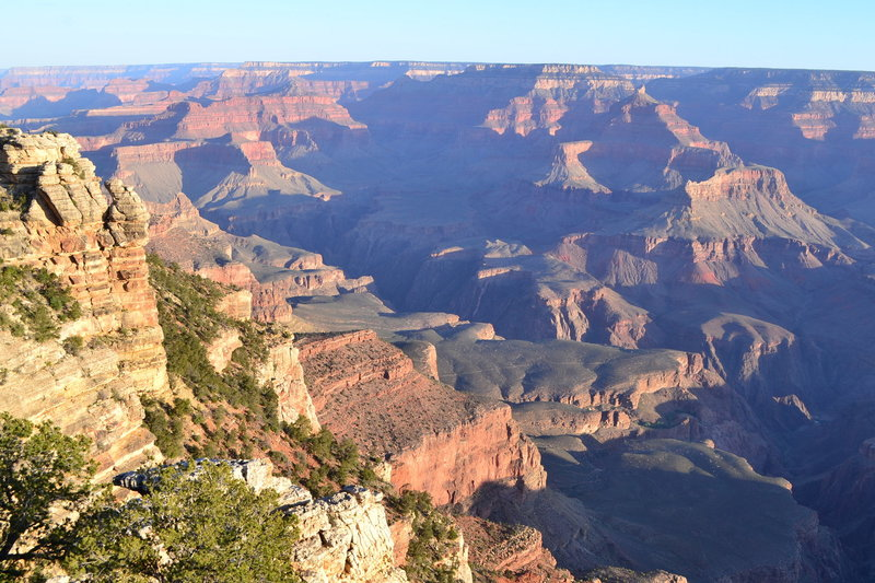 Morning sunrise from Mather Point.