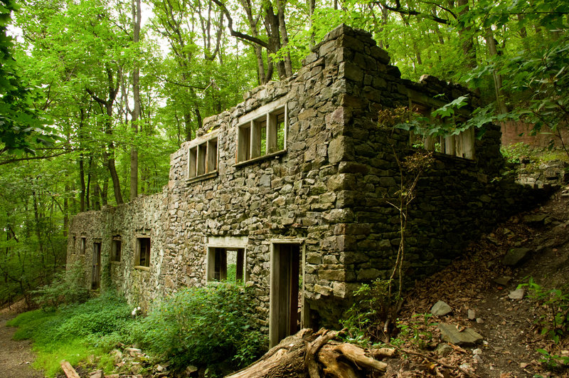 Valley Forge: Colonial Springs Water Bottling Plant Ruins 5.