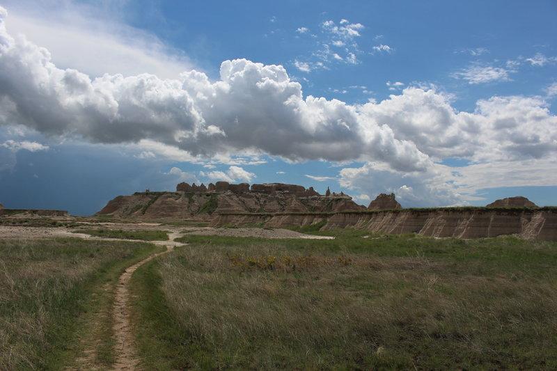 Badlands Castle Trail.