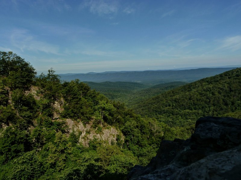 Overall Run at the Lower Falls Overlook.