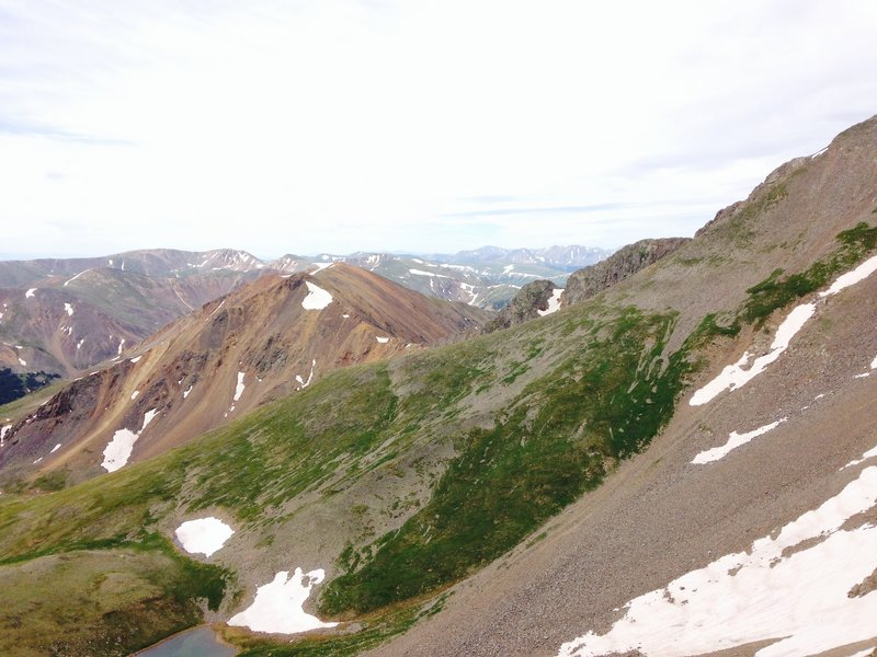 Torreys is on the right just out of view and Grizzly is just left of center