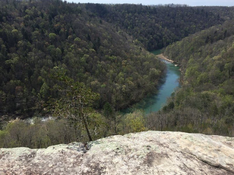 The Big South Fork from the Angel Falls Overlook.
