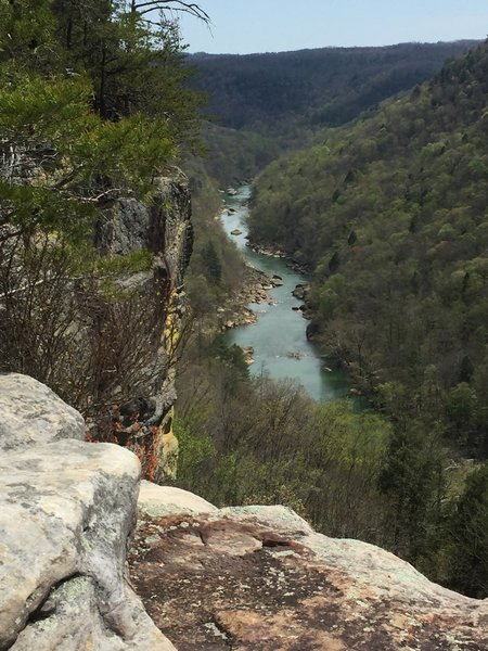 The Big South Fork from Angel Falls Overlook.