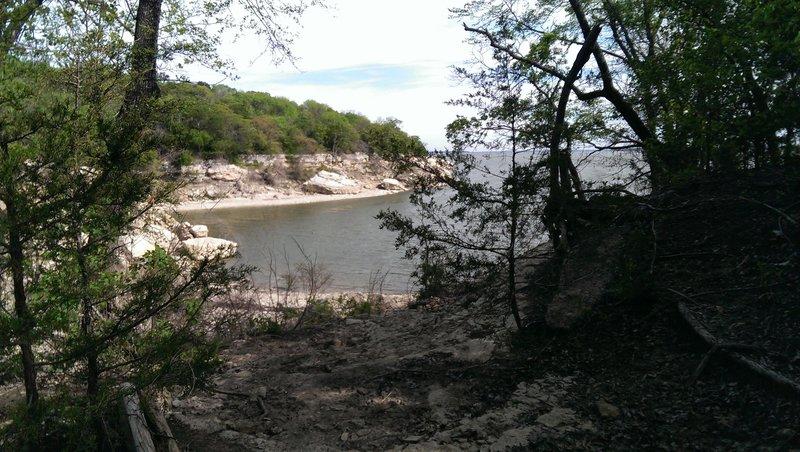 Ammonite scenic point