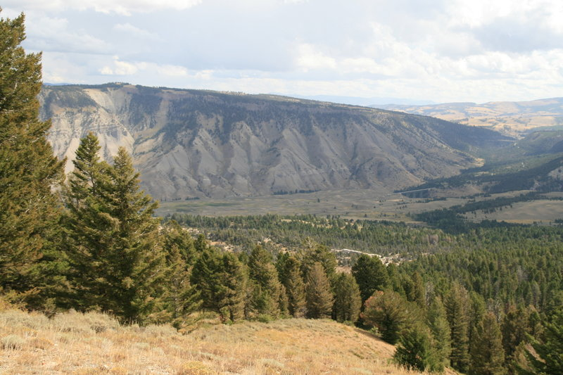 View from Clagett Butte plateau.