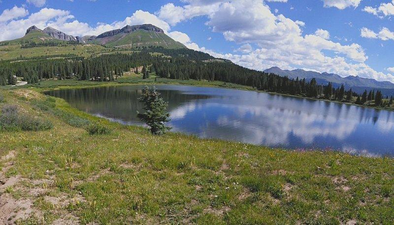 Little Molas Lake.