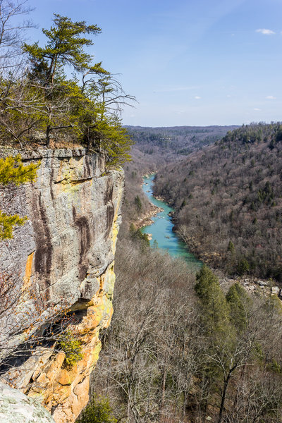 Cliffside on the Big South Fork.