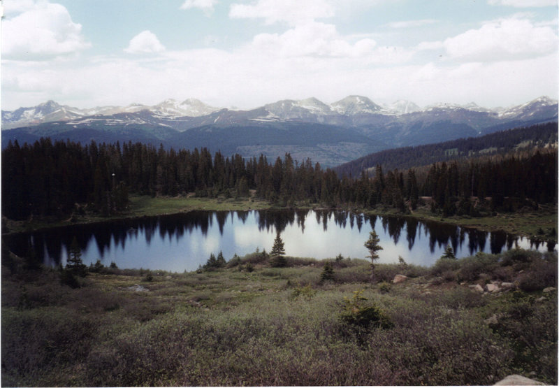 Crater Lake -San Juan National Forest. with permission from eliot_garvin