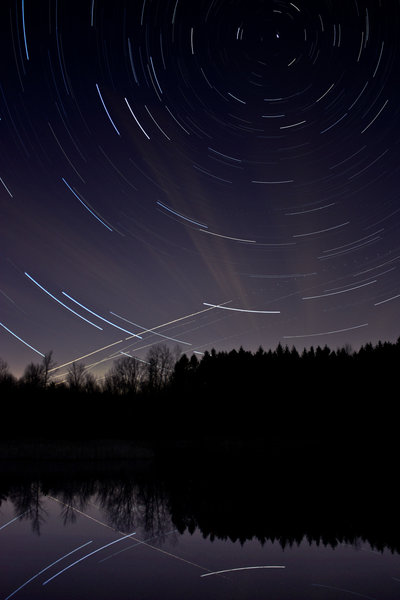 Tree Farm Trail is a great place to watch the stars! Photo by Claus Siebenhaar.