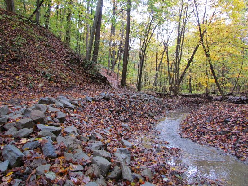 Tabletop Trail was recently rebuilt by volunteers.