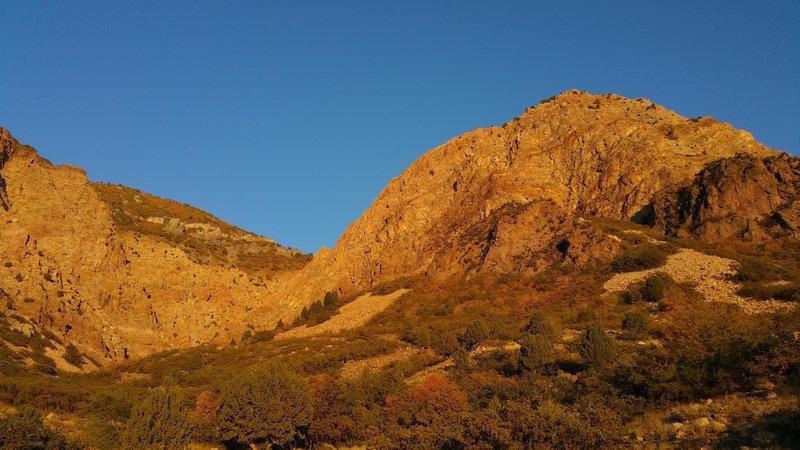 Jumpoff Canyon at Sunset
