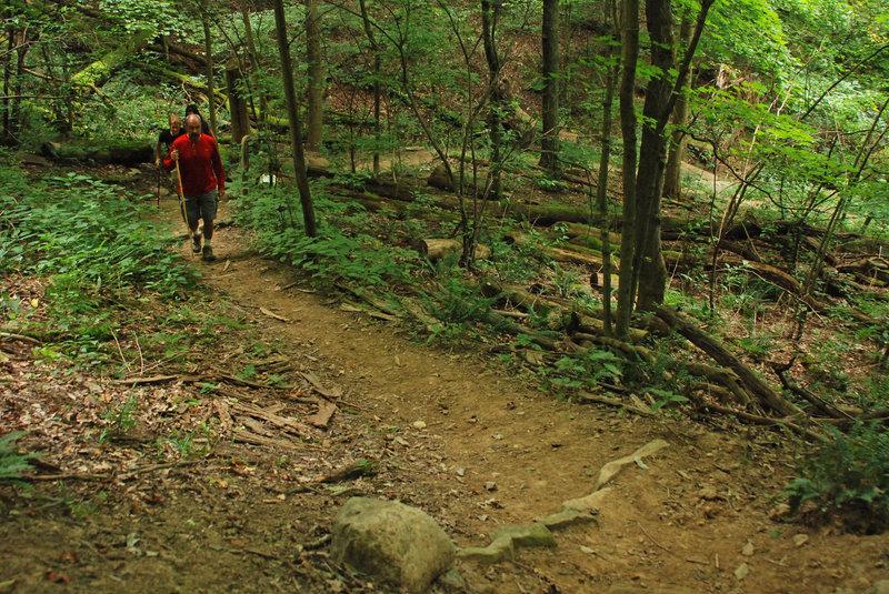 Steep climbs are a rewarding challenge. Photo: NPS/DJ Reiser