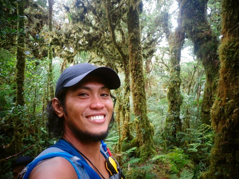 The coolest smile on this beautiful forest of Mt. Kalatungan! ;)